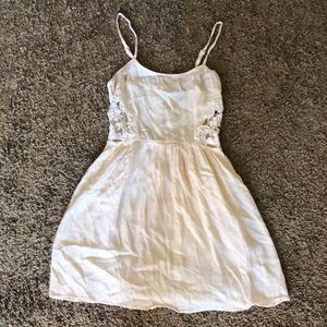 Topshop sleeveless sun dress (aline skirt) w/ lace